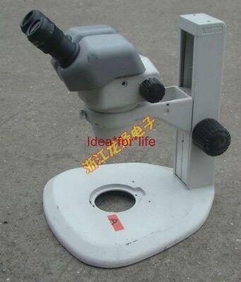Nikon Smz645 Stereo Zoom Microscope 8x-50x With C-w10x22 Eyepieces C0t5