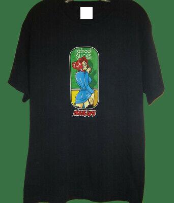 RARE vintage HOOK UPS shirt Large skateboard tee jeremy klein SIZE S-2XL REPRINT