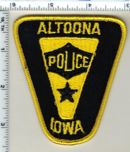 Altoona Police (Iowa)  Shoulder Patch - new from 1989