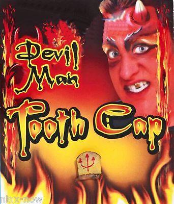 Devil Halloween Costumes Makeup (Devil Teeth Cap Demon Halloween Makeup Fancy Dress Costume)