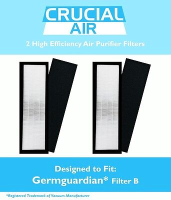 2 Germ Guardian Air Purifier Filter B Flt4825 Ac4800 New