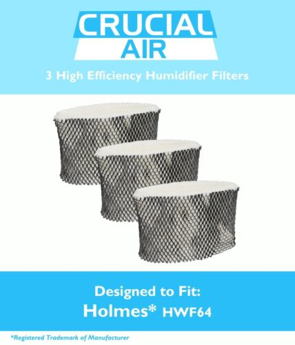 3 replacements holmes hm1761 humidifier filters b