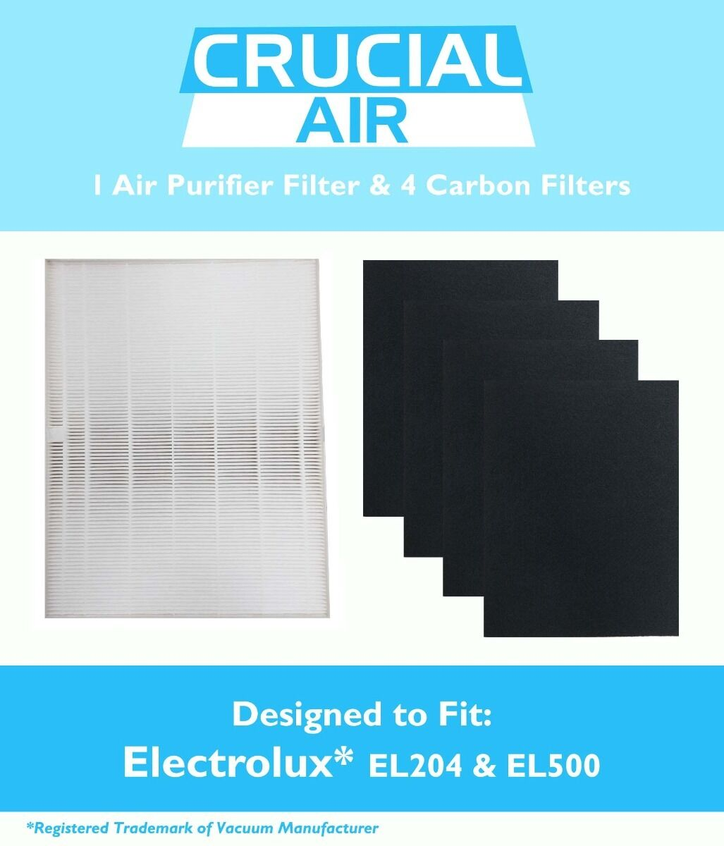 Replacement Electrolux HEPA FIlter & 4 Carbon Filters Part #