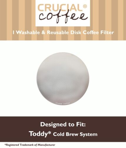 REPL Toddy Cold Brew Coffee System Washable Reusable