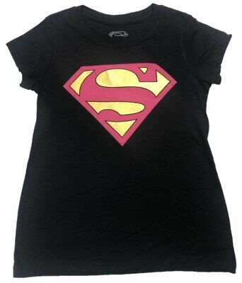 Dc Comic Girls (Supergirl Logo DC Comics Girls T-Shirt)
