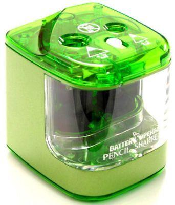 Jakar Verde Doble Orificio Sacapuntas Escritorio Batería Eléctrica Main Operado