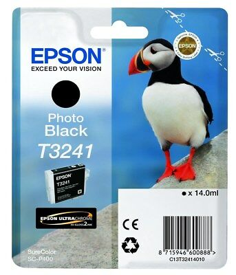 Ultrachrome Tintenpatrone Foto (Epson Puffin T3241 (14ml) Ultrachrome Hi-Gloss2 Foto schwarze Tintenpatrone für)