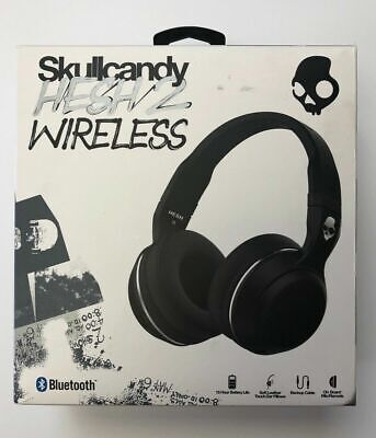 Skullcandy Hesh 2 Bluetooth Wireless Headphones in Black - New
