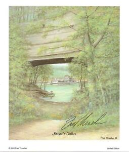 Nature's Shelter by Fred Thrasher   Signed by Fred