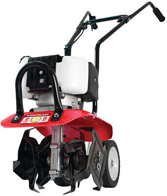 """NEW SOUTHLAND SVC43 Gas Powered Tiller Cultivator 2 CYCLE 43 CC 7-10"""" WIDTH"""
