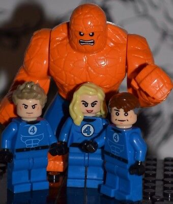Fantastic Four Thing Human Torch Susan Storm Mr Men Women Unisex T-shirt 2866