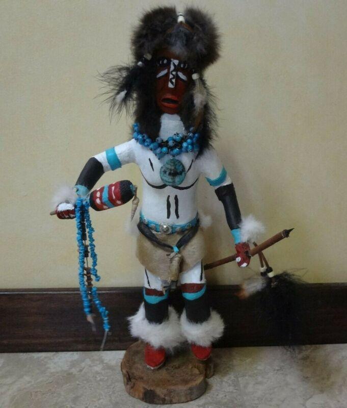 "Native American "" Spear Dancer "" LARGE 19"
