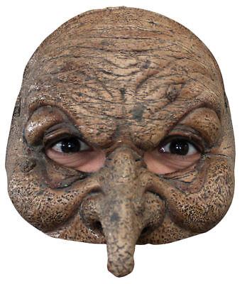Half Halloween Costumes (Morris Costumes New Scary Halloween Wizard Motif Latex Half Mask.)