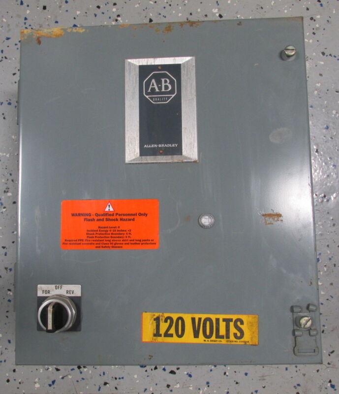 ALLEN BRADLEY ELECTRICAL ENCLOSURE 505-AAXD-3-104 SERIES B