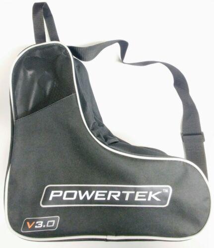 PowerTek V3.0 Heavy-Duty Ice Hockey Skate Carry Bag, Adjusta