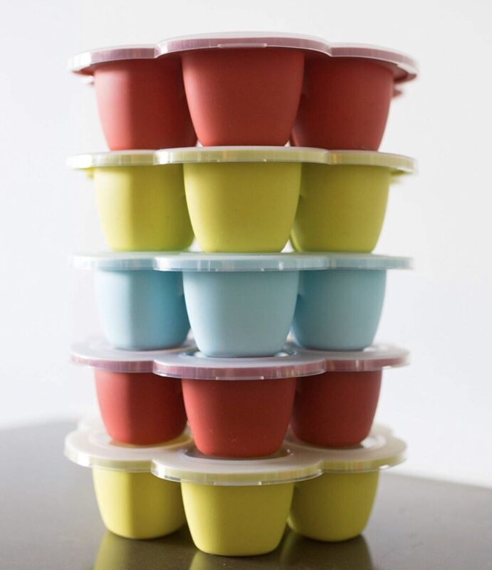 BEABA MULTIPORTION SILICONE BABY FOOD STORAGE TRAY