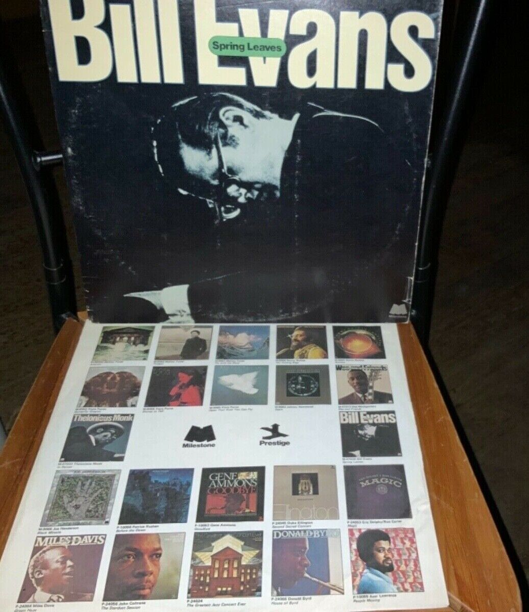 BILL EVANS Spring Leaves JAZZ 2xLP MILESTONE VG/VG  - $14.99