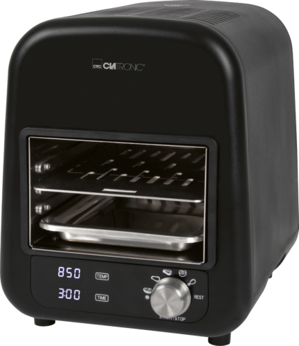 Clatronic Elektro Beef-Grill EBG 3760 schwarz, 850 °C , 1600 Watt, NEU