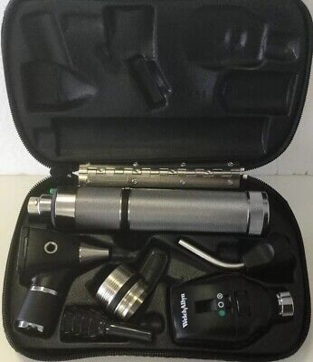 Welch Allyn Diagnostic Set Ophthalmoscope 11720 Otoscope 20000a 41100 Finnoff