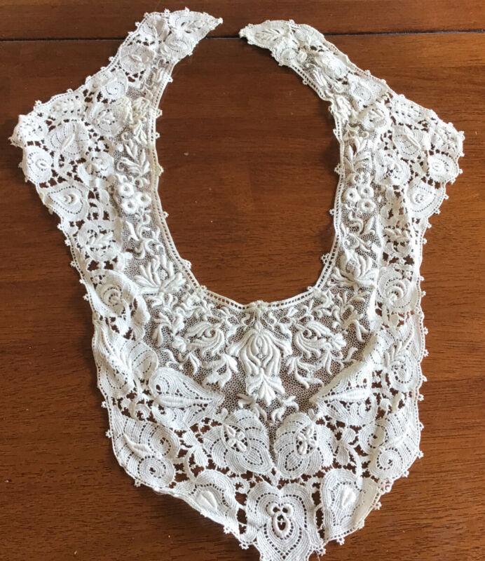 Antique Lace Bodice/ Collar