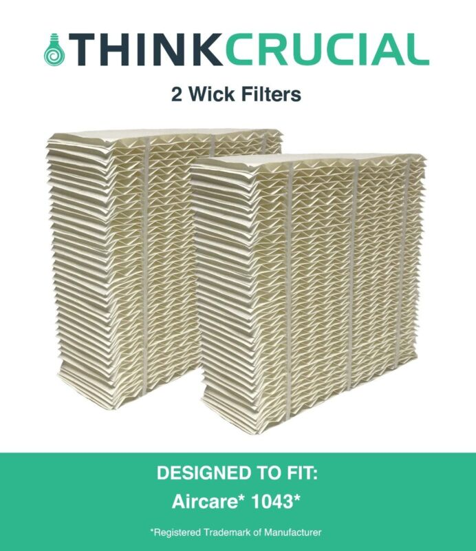 """2 Replacements Aircare 1043 Paper Wick Humidifier Filter 10.8"""" x 4.2"""" x 12.5"""""""