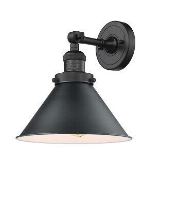 Innovations Lighting 203-BK-M10-BK-LED Briarcliff Wall Sconce Matte Black