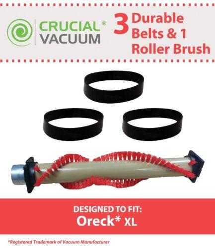 Replacement Oreck XL Roller Brush & 3 Belts Part # 016-1152