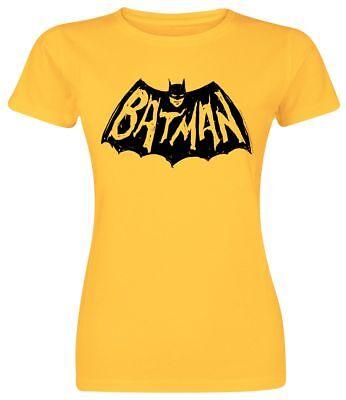 Batman Damen Shirt (Batman Girlie T-Shirt Graffiti Logo Damen Shirt S-XXL )