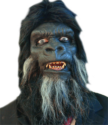 Morris Costumes Gorilla Face Foam Prostethic Mask. TA458](Gorilla Costume Mask)