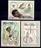 Sao Tome 1984 Malaria Eradication Health Medical Insects Mosquito Microscope Mnh -  - ebay.it