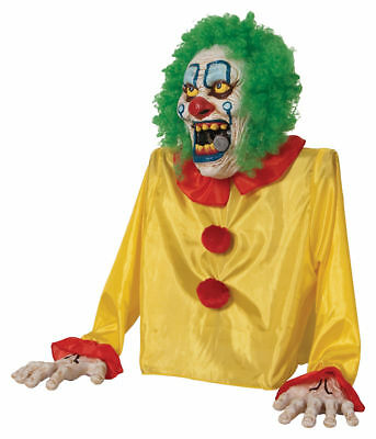 Life Size Demon Animated Zombie Clown Fog Machine Cover Accessory Halloween Prop