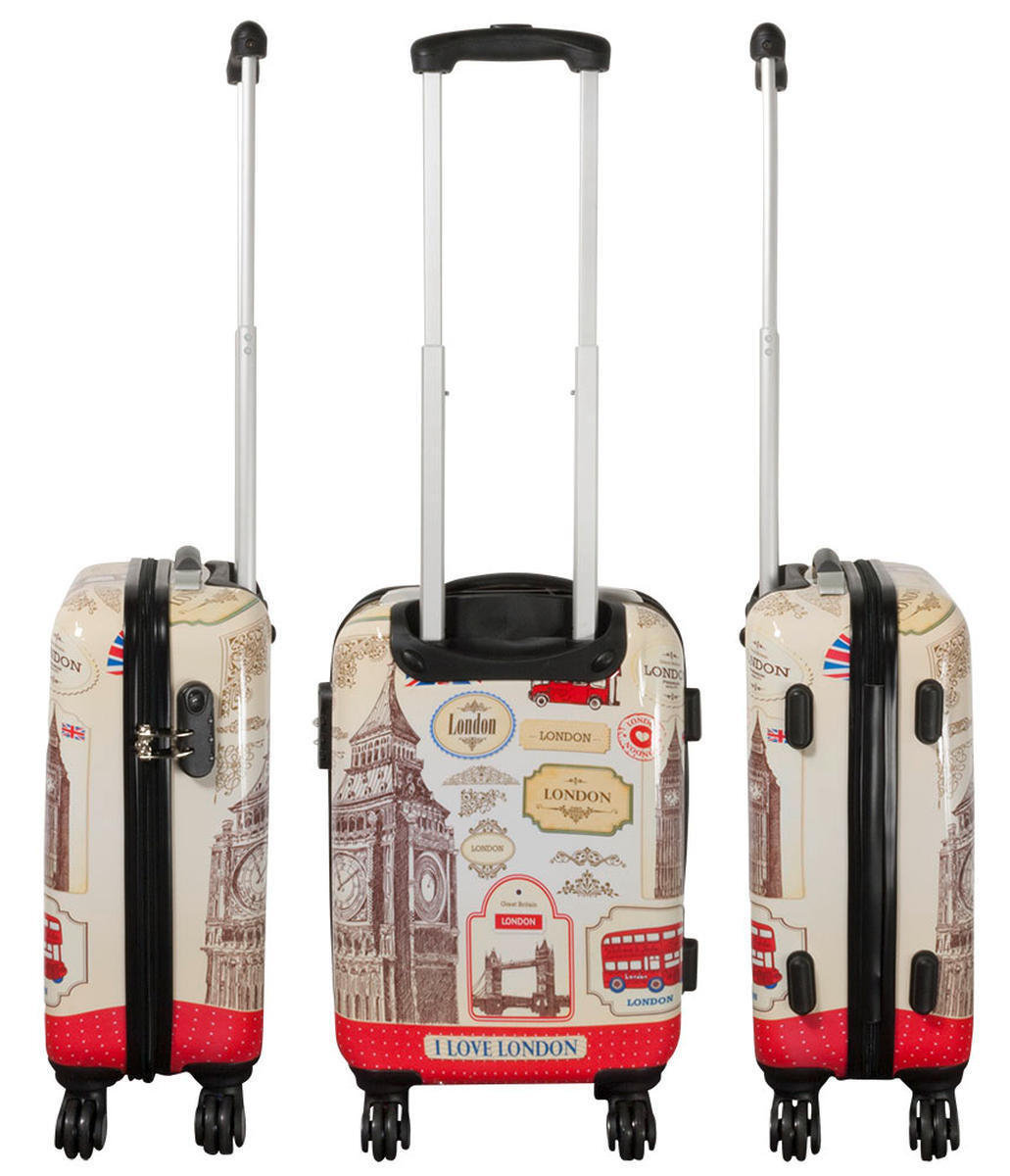 hartschalen reise koffer trolley handgep ck i love london. Black Bedroom Furniture Sets. Home Design Ideas