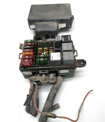 95-98 Chevy Truck Fuse Relay Box Under Hood E23