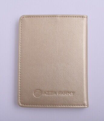 Azza Fahmy-Handcrafted genuine etched leather Card holder Wallet