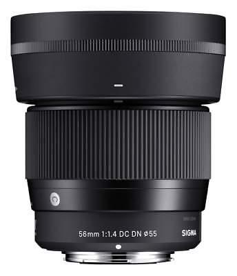 Sigma Sony E-Mount 56 mm 1,4 DC DN Contemporary schwarz **NEU**HÄNDLER**SOFORT**