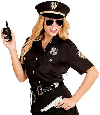 Polizistin Kostüm Nancy NEU - Damen Karneval Fasching Verkleidung Kostüm (Neu Karneval Kostüme)