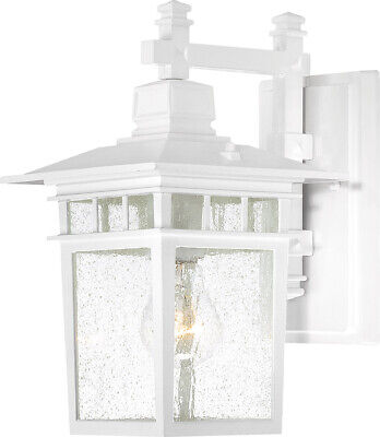 Nuvo Lighting 60/4951 Cove Neck 1 Light 12 inch White Outdoor Wall -