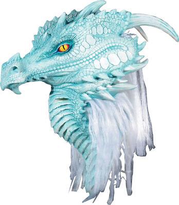 Morris Costumes Mario Chiodo Arctic Dragon Premiere Ultra Latex Mask. MR035019 - Mario Chiodo Masks