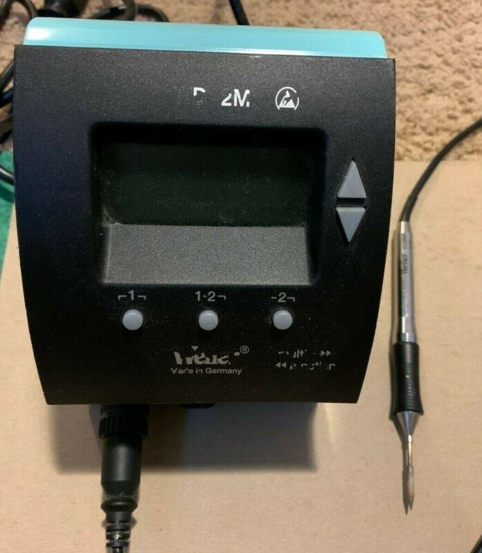 Weller WD 2M Digital Dual Channel Solder Unit & WMRP 55W Iron + Tip