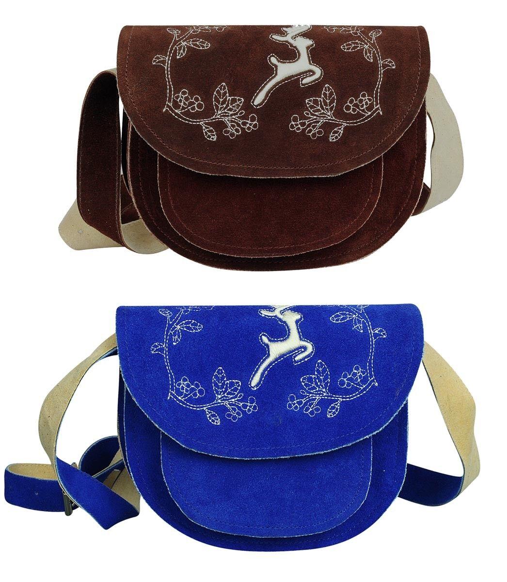 Trachtentasche Handtasche Damentasche Schultertasche Dirndl Tasche mit Stickerei