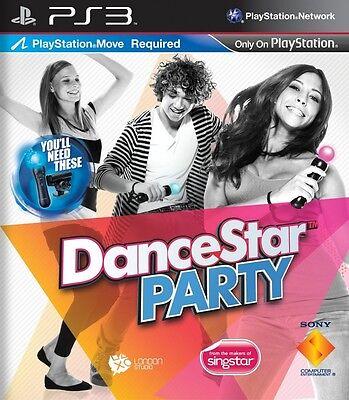 DANCESTAR PARTY PLAYSTATION 3 NUOVO