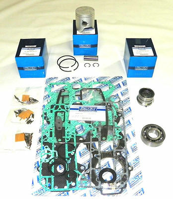 Used, WSM Yamaha 60 / 70 Hp 3 Cyl. Power Head Rebuild Kit 100-255-10 OEM 6H3-11631-01 for sale  Shipping to South Africa