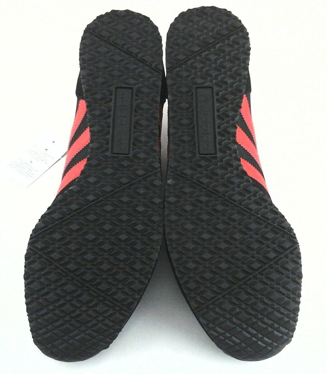 4b27ee302304e Adidas Originals S80037 Men s ZX RACER Retro Shoes Black Red US 11 EU 45  1 3 New