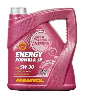Aceite de motor 5W30 Ester Lubricante para coches MANNOL Energy Formula JP...