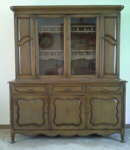 Dining Room Set--Unique, Solid Wood; Table, Buffet & Hutch Windsor Region Ontario image 4
