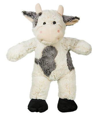 Cuddly Soft 16 inch Stuffed Bessie the Moo Cow - We stuff 'em...you love 'em! - Cuddly Cow