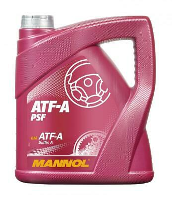 4L POWER STEERING FLUID MANNOL ATF-A/PSF ALLISON C3, CATERPILLAR TO-2, Suffix A