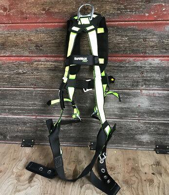 Fall Protection Fs185 Safewaze Pro Vest Construction Safety Padded Harness Lxl