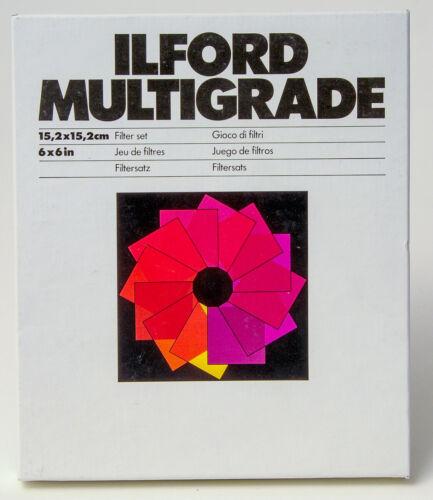 Ilford Multigrade Filters 6 x 6 inches, NEW in SEALED BOX - 624 241 15,2x15,2cm