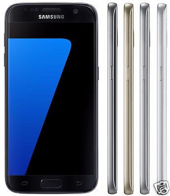 Samsung Galaxy S7 Verizon Android Smartphone Black Gold Silver White 32GB